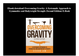 Overcoming Gravity Progression Chart Ebook Download Overcoming Gravity A Systematic Approach To