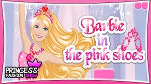 Barbie In The Pink Shoes Dress Up Game For Kids Youtube