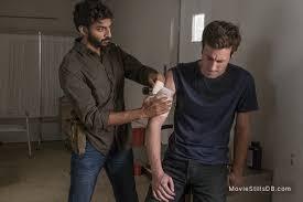 The Walking Dead - Episode 8x13 publicity still of Avi Nash & Jason Burkey
