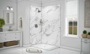 shower panel faux granite pvc innovate building solutions pvcpanels wallpanels diyshowerwallpanels