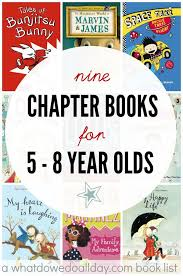 early chapter books for 5 to 8 year olds who are beyond easy readers yet not read for middle books