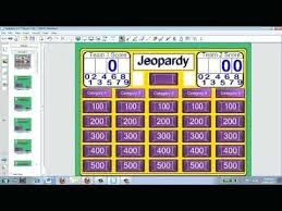 Smartboard Game Templates Blank Jeopardy Template 9 Download ...