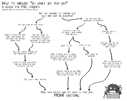 So What Do You Do A Flowchart For Phd Students
