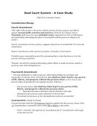 Case Study On Dual Court System Crju 313 Studocu