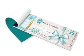 gift voucher printing secure personalised gift vouchers gift certificate booklets