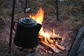 Image result for images of coffee pot over a fire