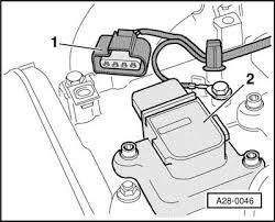 audi a4 1996 2001 spark plug change procedure ignition coils removing