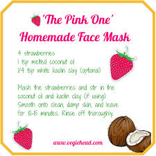 the pink one mask