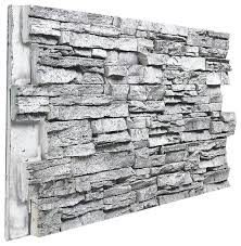 fake stone wall outdoor architectural super deep slate stacked wall panel almond in fake stone panels