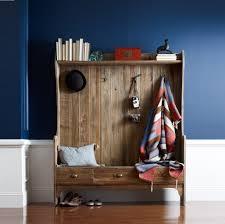 Mini Coat Rack Bench Entryway Storage Bench With Coat Rack Wood Stabbedinback 24