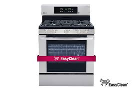 gas range easyclean and fan convection