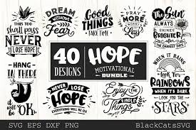 Free download pray svg icons for logos, websites and mobile apps, useable in sketch or adobe illustrator. Hope Motivational Bundle Graphic By Blackcatsmedia Creative Fabrica In 2020 Motivational Svg Pray More Worry Less Good Things Take Time