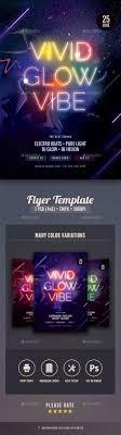 Dark Flyer Glow In The Dark Flyer Graphics Designs Templates