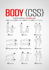 body css workout
