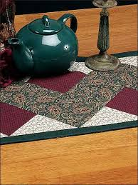 Quilting - Table Topper Quilt Patterns - Zig Zag Table Runner ... & Zig Zag Table Runner Adamdwight.com
