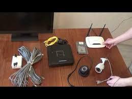 Какую систему видеонаблюдения выбрать С чего начать Технологии  ip видеонаблюдение 2 Подключение ip камер через роутер