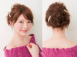脱くせ毛うねり髪をおしゃれに見せる簡単ヘアアレンジall About