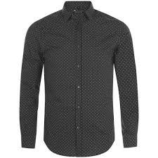 <b>Рубашка мужская BECKER</b> MEN, темно-серая с белым ...