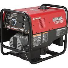 electric generators. FREE SHIPPING \u2014 Lincoln Electric Outback 185 Welder Generator With Kohler Engine 150 Amp DC Generators /