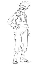 Small Picture Kakashi Hatake coloring page Free Printable Coloring Pages