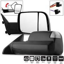 2012 ram tow mirrors pair for 2009 2012 dodge ram pickup power heat turn puddle signal towing mirrors fits