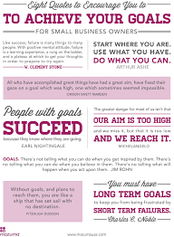 small business quotes 8 quotes to encourage you to achieve your small business goals
