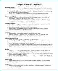 Resume Objective General Extraordinary Examples Of Resumes Objectives And Business Resume Objective