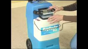 how to use the rug doctor mighty pro carpet cleaner