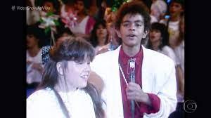 Vídeo Show | Jairzinho e Simony cantavam em dupla nos anos 80