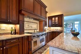 cherry kitchen cabinets photo gallery. Custom Kitchen Cabinets, Hermosa / Latte Island, Raised Panel Framless Cabinets Cherry Photo Gallery O