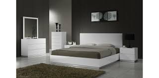 white lacquered furniture. Naples White Lacquered Bedroom Set By J\u0026M 5pc Furniture