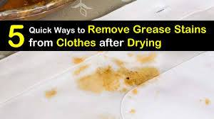5 quick ways to remove grease sns