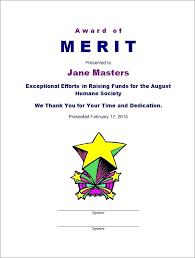 Merit Certificate Sample Unique Merit Certificate Templates Template Award Gocreatorco
