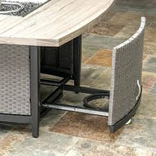 outdoor furniture stone table top. stone table top patio furniture coffee canada vistanoa 48in fire outdoor o