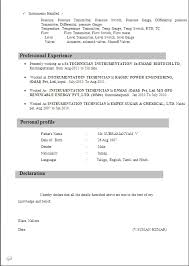 Iti Fitter Resume Format Best Resume Gallery Iti Fitter Resume Format Iti  Fitter Resume Format