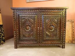 custom spanish style furniture. Carved Custom Cabinets Furniture/vanity. Spanish Colonial Revival Style. Santa Fe, New Style Furniture D