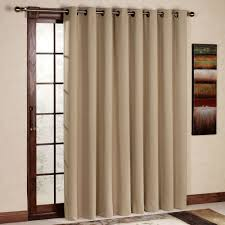 transpa gl door with brown wooden frame and grey dry patio door curtains thecurtain