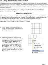 opening up mathtype note there is a more detailed tip on our web site