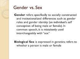 gender stereotypes by danielle york ppt  2 gender vs sex
