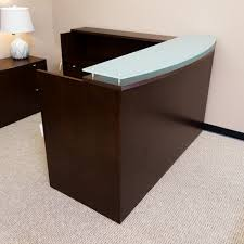walnut office furniture. Used Reception Desk (Walnut) DER1526-003 Walnut Office Furniture