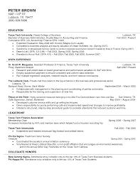Resume Flight Attendant Resume Template