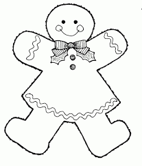 Mormon Share Gingerbread Girl Coloring Pages Pinterest Best