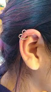 Industrial Ear Heart Piercing Fashion Piercing En Las Orejas
