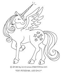 Coloring Pages Of Unicorns Unicorn Coloring Pages For Adults