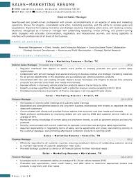 Resume Samples For Sales And Marketing Jobs