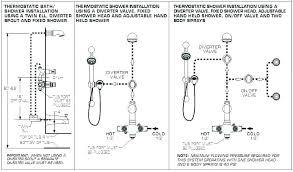 delta shower valve installation mixer mixing medium depth
