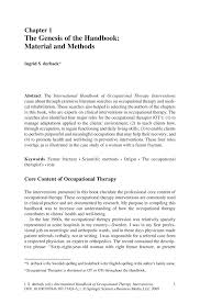 international handbook of occupational therapy interventions international handbook of occupational therapy interventions international handbook of occupational therapy interventions