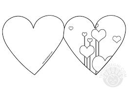 Biglietti San Valentino Da Colorare Disegni San Valentino Da Colorare