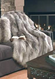 big faux fur rug fox area large small limited ion design stock luxury