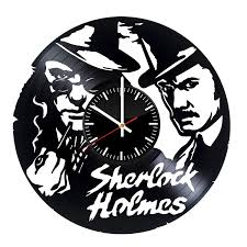 amazon victory gifts sherlock holmes fan gift vinyl record wall clock unique gift for kids and s home wall decor for any e home